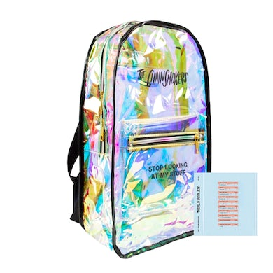 The Chainsmokers Large Iridescent Backpack + Digital Album