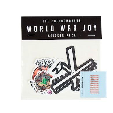 The Chainsmokers WWJ Sticker Pack + Digital Album