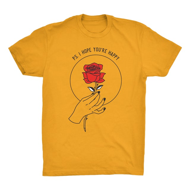 The Chainsmokers Gold Rose Tee