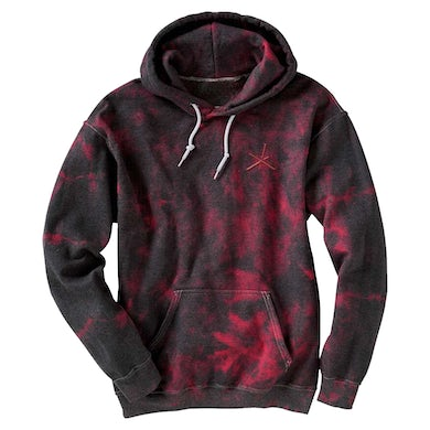 The Chainsmokers Black/Red Crystal Triad Hoodie