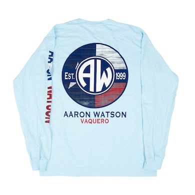 Aaron Watson Vaquero Pocket Flag Long Sleeve
