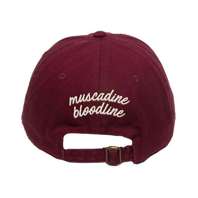 Muscadine Bloodline Porch Swing Angel Burgundy Hat