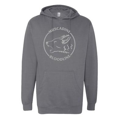 Muscadine Bloodline Coyote Grey Hoodie