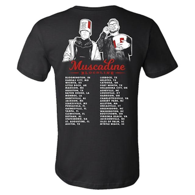 Muscadine Bloodline 2020 Tour Tee