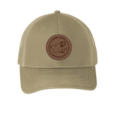 Muscadine Bloodline Coyote Brown Patch Hat