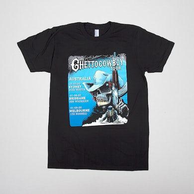 Ghetto Cowboy Australia Tour Tee