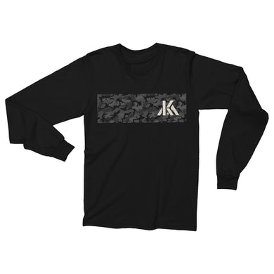 Kip Moore KM Camo Logo Long Sleeve T-Shirt
