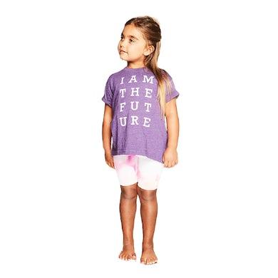 Natalie Grant I Am The Future Purple Kids T-Shirt