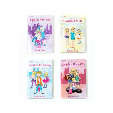 Natalie Grant Glimmer Girls 4 Book Set