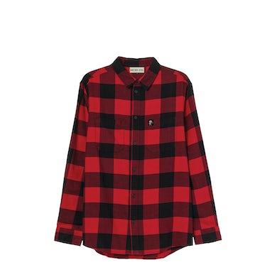 NEEDTOBREATHE Flannel Button Down