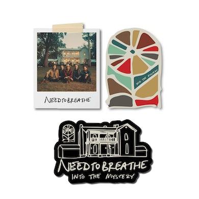 NEEDTOBREATHE Into The Mystery Sticker Pack