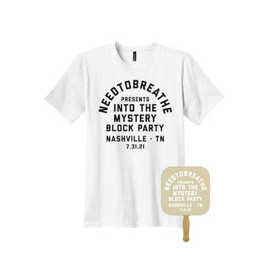 NEEDTOBREATHE White Into The Mystery Block Party Tee