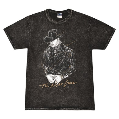 The Night Game Acid Washed Tee