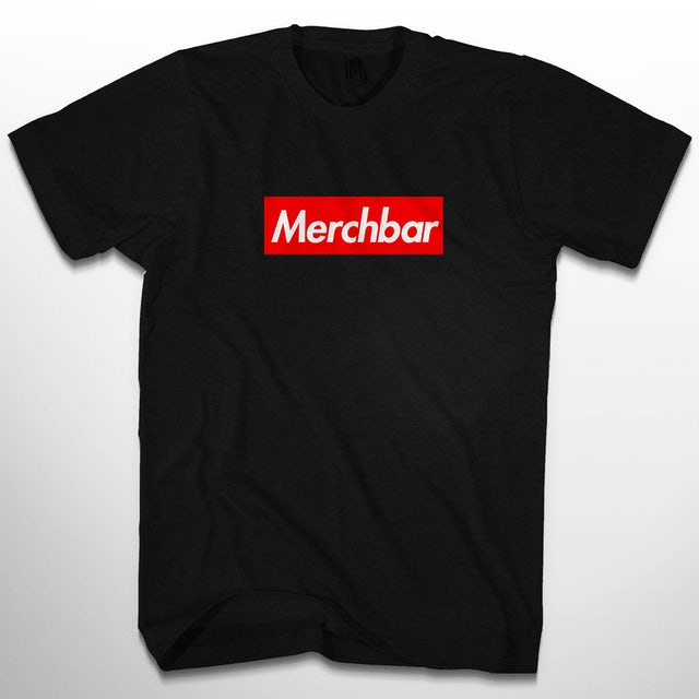 The Merchbar Supreme Black Tee