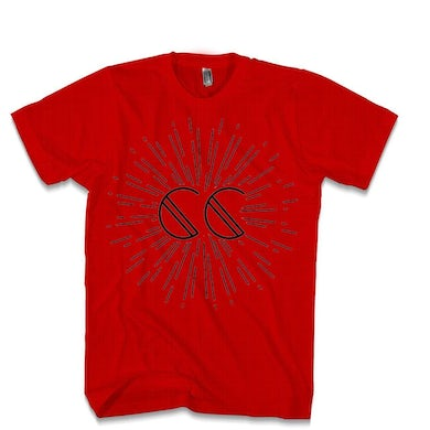 Canyon City Firework Red Tee