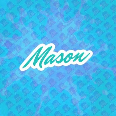 Mason Patterson  Mason Signature Sticker
