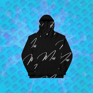 Mason Patterson  Black Mas Signature Hoodie