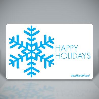 Merchbar Gift Cards Happy Holidays