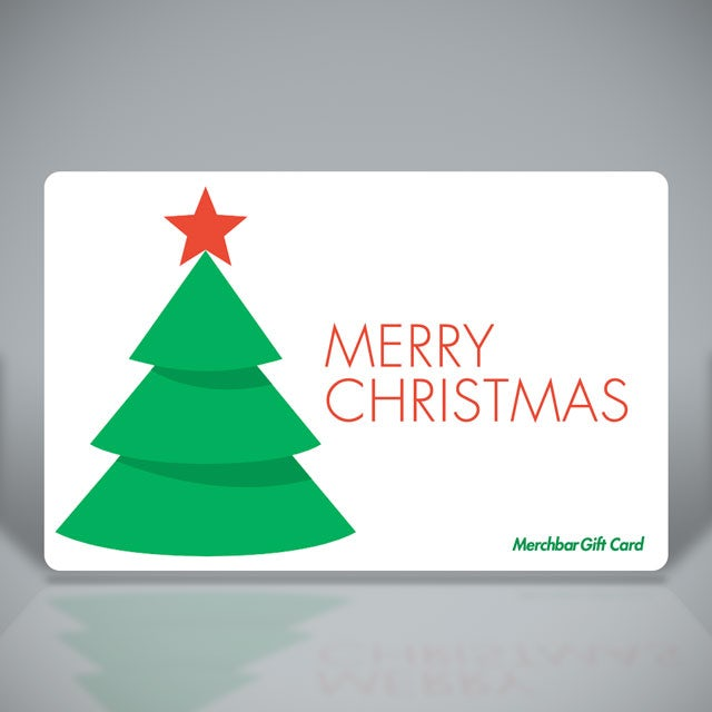 Merchbar Gift Cards Merry Christmas