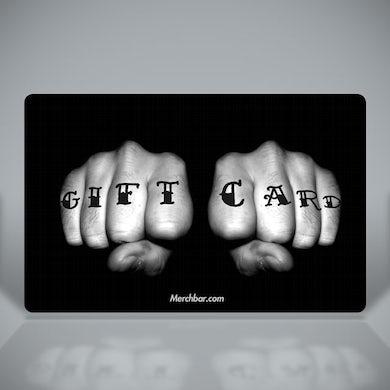 Merchbar Gift Cards Tattooed Fists Merchbar Gift Card