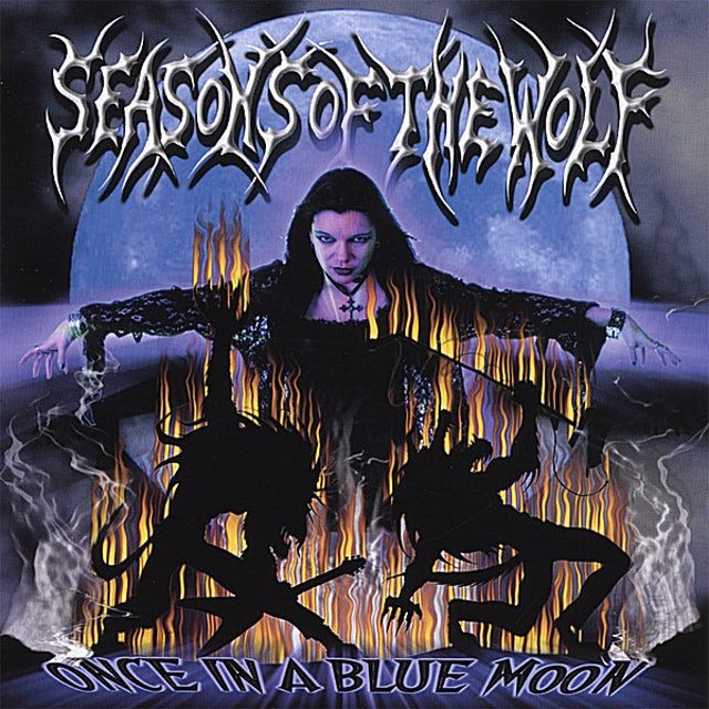 Seasons Of The Wolf ONCE IN A BLUE MOON CD