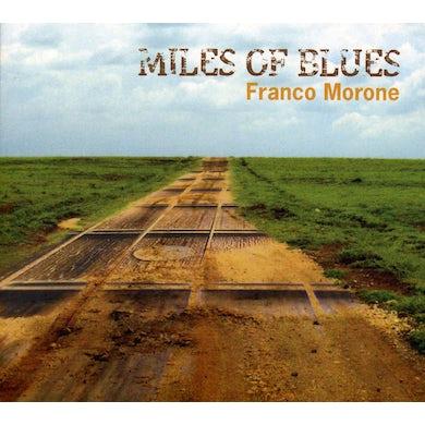 Franco Morone MILES OF BLUES CD