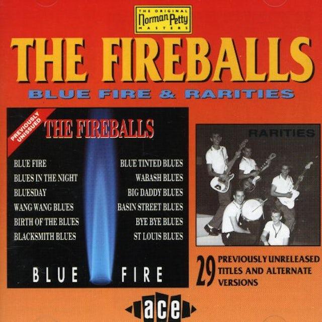 Fireballs BLUE FIRE & RARITIES CD