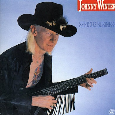 Johnny Winter SERIOUS BUSINESS CD