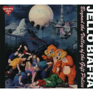 Jello Biafra BEYOND THE VALLEY OF THE GIFT POLICE CD