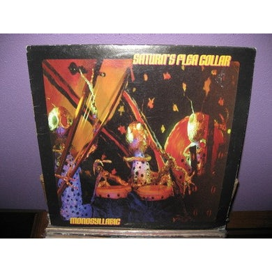 Saturn'S Flea Collar MONOSYLLABIC Vinyl Record