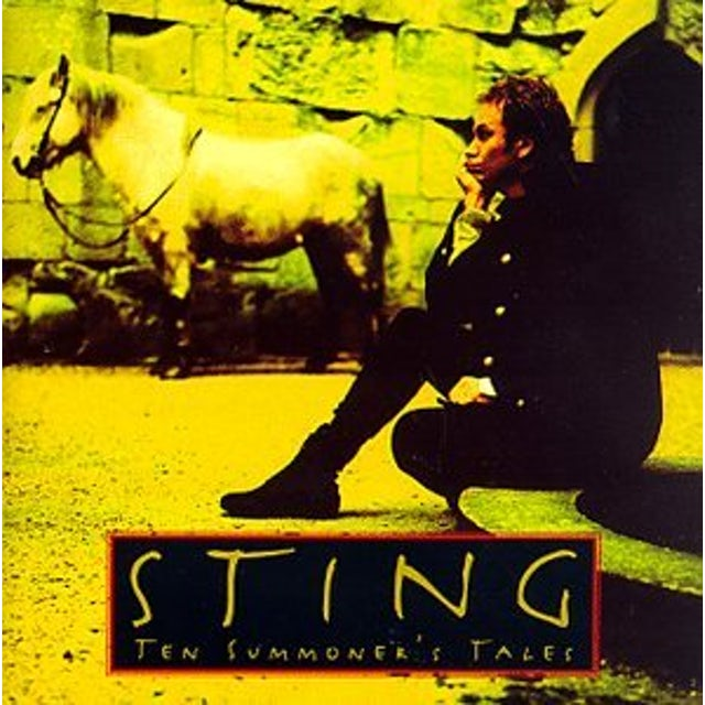 Sting TEN SUMMONER'S TALES (JEWEL BOX) CD