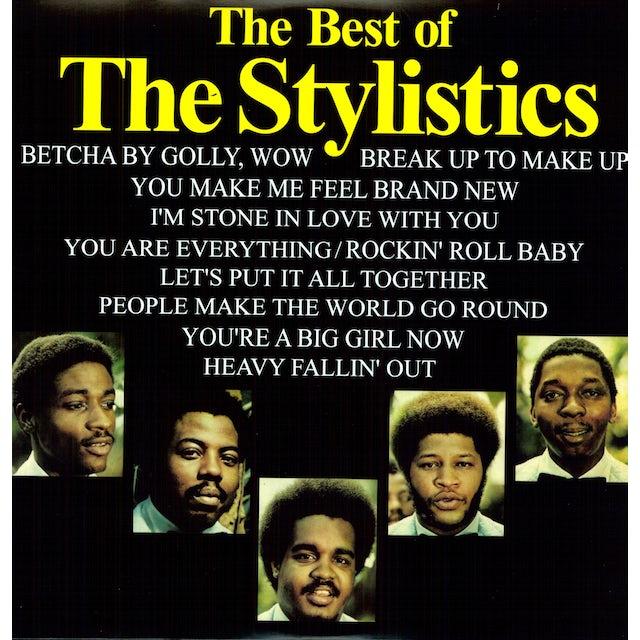 The Stylistics BEST OF Vinyl Record