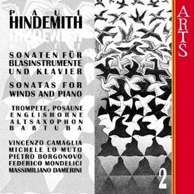 Hindemith SONATAS FOR WINDS & PIANO 2 CD