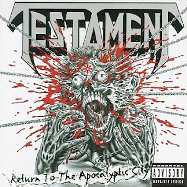 Testament RETURN TO THE APOCALYPTIC CITY CD