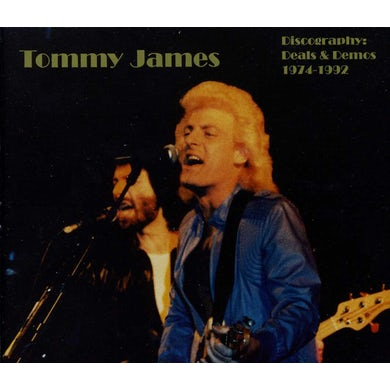 Tommy James DISCOGRAPHY DEALS & DEMOS 74-92 CD