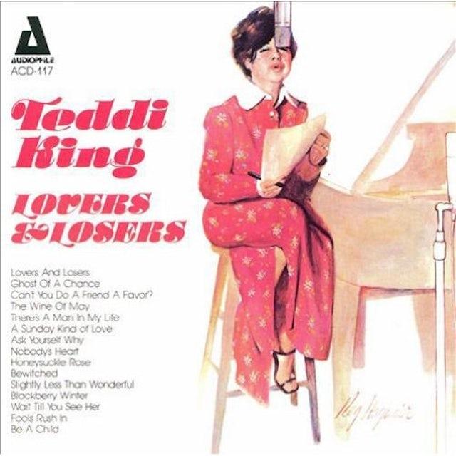 Teddi King LOVERS & LOSERS CD