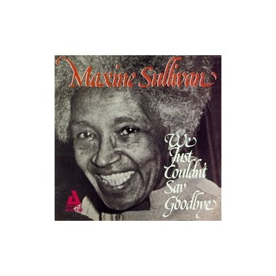 Maxine Sullivan WE JUST COULDN'T CD