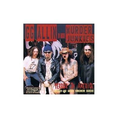 Gg Allin & Murder Junkies TERROR IN AMERICA CD