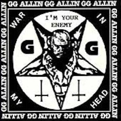 Gg Allin I'M YOUR ENEMY / WAR IN MY HEAD CD