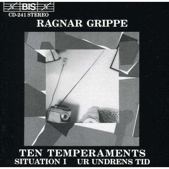 Ragnar Grippe 10 TEMPERAMENTS / SITUATION I / UR UNDRENS TID CD