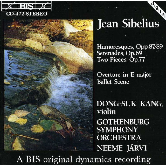 Sibelius WORKS FOR VIOLIN & ORCH CD