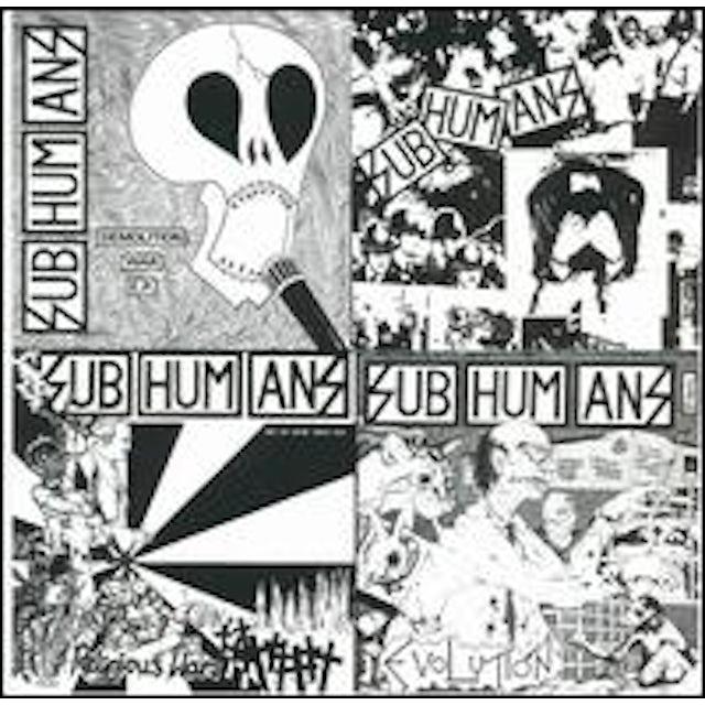 Subhumans EPLP CD