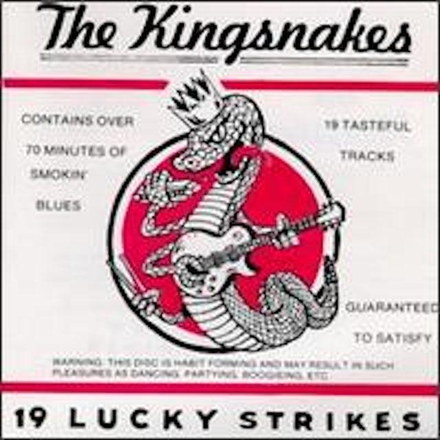 Kingsnakes 19 LUCKY STRIKES CD