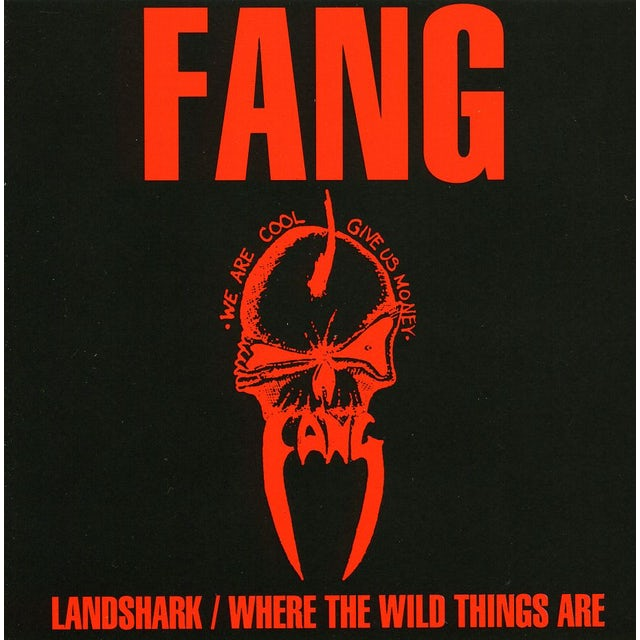 FANG LANDSHARK / WHERE THE WILDTHINGS ARE CD