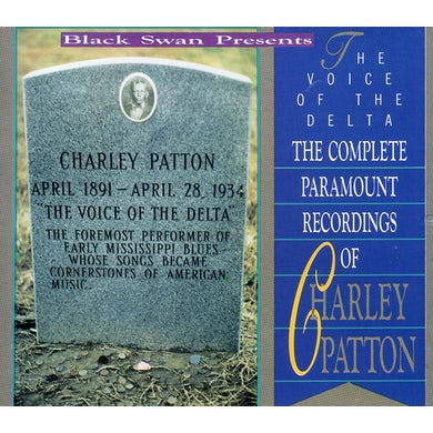 Charley Patton VOICE OF THE DELTA CD