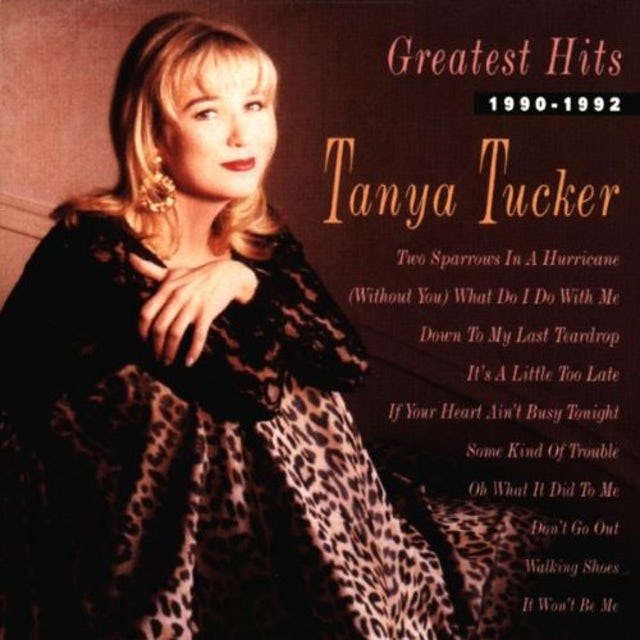 Tanya Tucker GREATEST HITS 1990-1992 CD