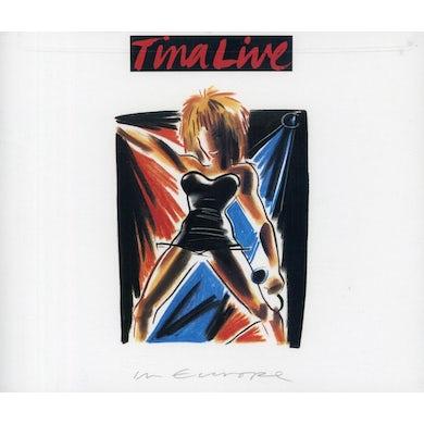 Tina Turner LIVE IN EUROPE CD