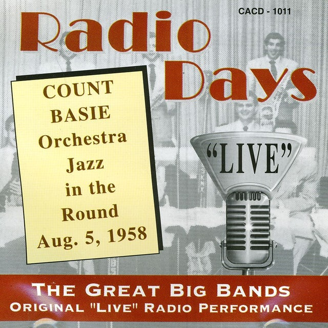 Count Basie AUGUST 5 1958 CD
