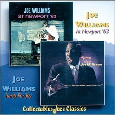 Joe Williams AT NEWPORT '63 / JUMP FOR JOY CD