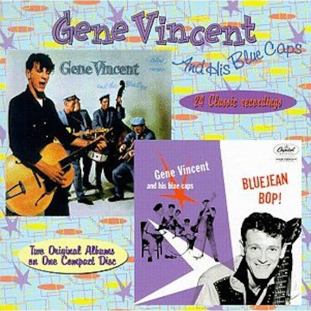 BLUE JEAN BOP / GENE VINCENT & BLUE CAPS CD